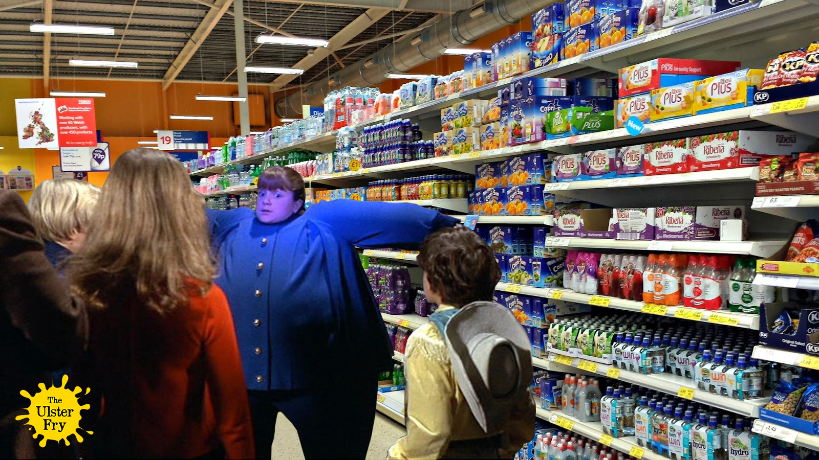 Kids are fat because of ribena say tesco the ulster fry amid gumiabroncs Choice Image