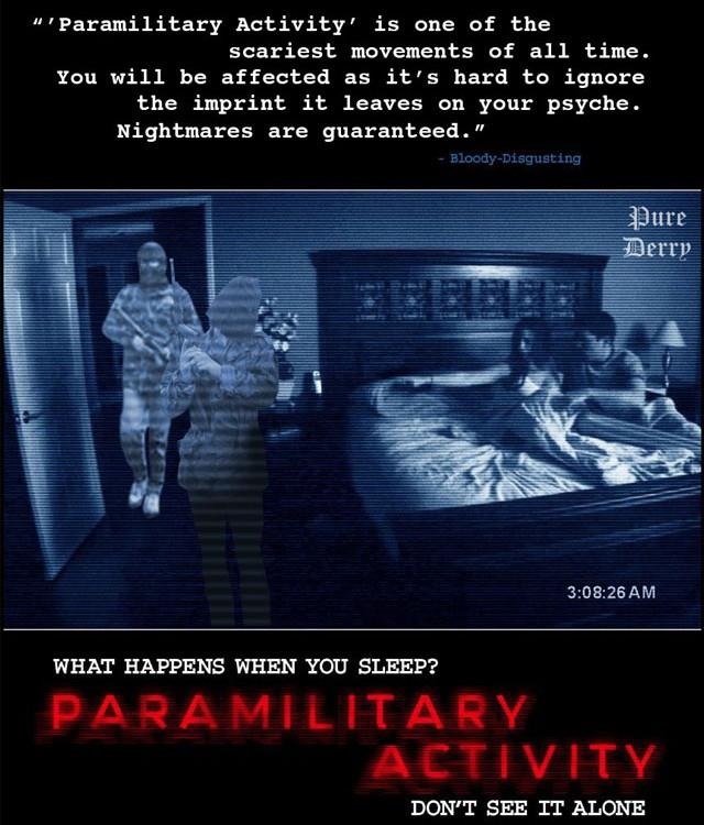 Paramilitary Activity
