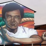 New mural on Sandy Row as Jackie Chan becomes Loyalist icon