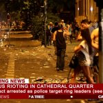 Violence at Belfast Culture Night as rival gangs clash
